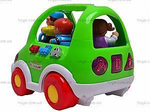 Обучающая игрушка «Автобус Познавайка», 6012, отзывы