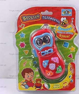 Обучающая игрушка «Музыкальный телефон», 775-6U