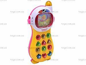 Обучающая игрушка «Умный телефон», 771-U, отзывы