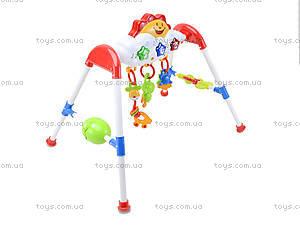 Обучающая стойка с погремушками, MS1001, игрушки