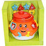 Обучающая игрушка «Поющий горшочек» (оранжевый), 0915, фото