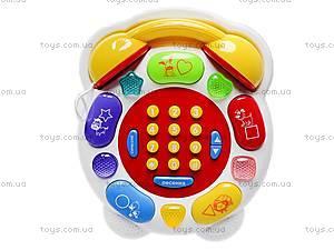 Обучающий детский телефон, MS1002, фото