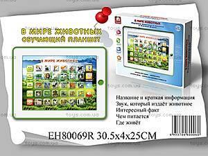 Обучающий планшет «В Мире Животных», EH80069R