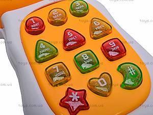 Обучающий телефон для детей, FR353, игрушки