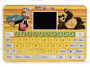 Обучающий планшет «Маша и Медведь», 53 задания, MM-773-U, купить