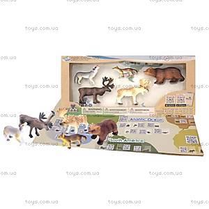 Обучающий игровой набор с QR-картой «ЖИВОТНЫЕ ЕВРОПЫ», WEU1704