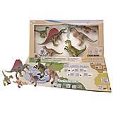 Обучающий игровой набор с QR-картой «ХИЩНЫЕ ДИНОЗАВРЫ», WCD1701, фото