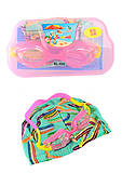 Очки для плавания с шапочкой, TT14010, купить