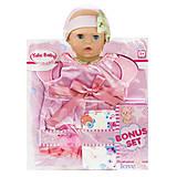 Одежда для пупса «Розовое платьице», BLC202H/A/B/C, фото