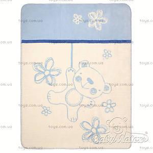 Одеяло детское Teddy, синее, 0201-24