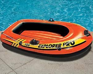 Одноместная надувная лодка, 58355, купить