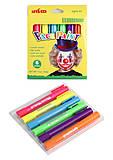Карандаши для лица, флюорисцентные 6 цветов, XD110228, купить