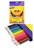 Карандаши цветные Smart, 18 цветов, ZB.2425, отзывы