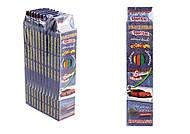 """Карандаши цветные, 6 цветов, гнущиеся""""Sport car"""" (6 штук в упаковке), 7558, детский"""