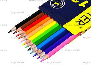 Цветные акварельные карандаши Marco Superb Writer, 12 цветов, 4120-12CB, купить