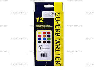 Цветные акварельные карандаши Marco Superb Writer, 12 цветов, 4120-12CB, цена