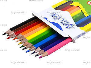 Цветные карандаши Marco Colorite, 12 цветов, 1100-12CB, фото