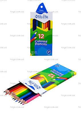 Цветные карандаши Marco Colorite, 12 цветов, 1100-12CB