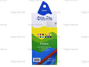 Цветные карандаши Marco Colorite, 12 цветов, 1100-12CB, отзывы