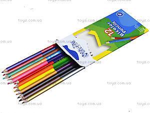 Цветные карандаши Marco Colorite, 24 цвета, 1110-12CB, купить