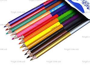 Цветные карандаши Marco Colorite, 24 цвета, 1110-12CB, фото