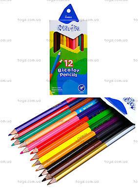 Цветные карандаши Marco Colorite, 24 цвета, 1110-12CB