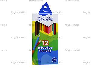 Цветные карандаши Marco Colorite, 24 цвета, 1110-12CB, отзывы