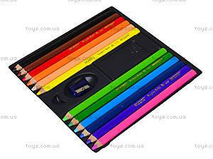 Карандаши цветные супермягкие Marco, 12 цветов, 1650-12CB, купить