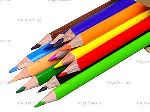 Карандаши цветные Marco Grip-Rite, 12 цветов, 9100-12CB, купить