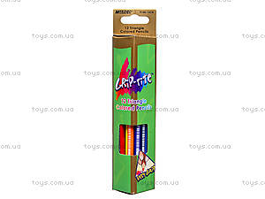 Карандаши цветные Marco Grip-Rite, 12 цветов, 9100-12CB, отзывы