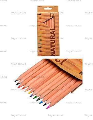 Цветные карандаши Natural-Cedarlite, 12 цветов, 6100-12CB