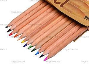 Цветные карандаши Natural-Cedarlite, 12 цветов, 6100-12CB, отзывы