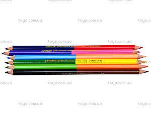 Цветные карандаши Marco «Пегашка», 12 цветов, 1011-6CB, купить