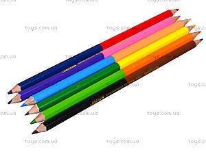 Цветные карандаши Marco «Пегашка», 12 цветов, 1011-6CB, фото