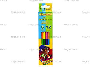Цветные карандаши Marco «Пегашка», 12 цветов, 1011-6CB, отзывы