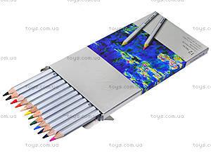 Цветные карандаши Marco Raffine, 12 цветов, 7100-12CB, фото