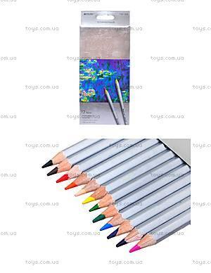 Цветные карандаши Marco Raffine, 12 цветов, 7100-12CB