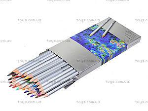 Карандаши цветные Marco Raffine, 24 цвета, 7100-24CB, фото