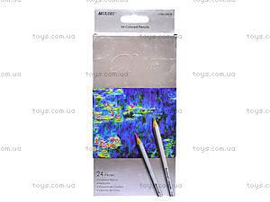 Карандаши цветные Marco Raffine, 24 цвета, 7100-24CB, отзывы