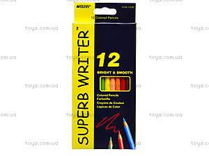 Цветные карандаши Marco Superb Writer, 12 цветов, 4100-12CB, отзывы