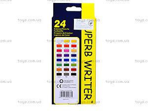 Цветные карандаши Marco Superb Writer, 24 цвета, 4100-24СВ, отзывы