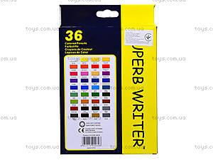 Цветные карандаши Marco Superb Writer, 36 цветов, 4100-36СВ, купить