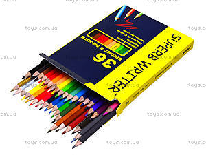 Цветные карандаши Marco Superb Writer, 36 цветов, 4100-36СВ, фото