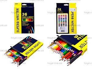 Цветные карандаши Marco Superb Writer, 36 цветов, 4100-36СВ