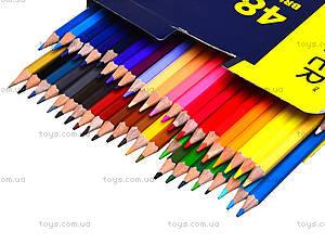 Цветные карандаши Marco Superb Writer, 48 цветов, 4100-48СВ, купить