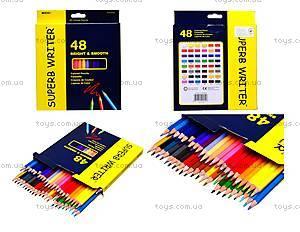Цветные карандаши Marco Superb Writer, 48 цветов, 4100-48СВ
