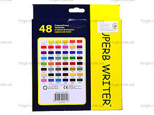 Цветные карандаши Marco Superb Writer, 48 цветов, 4100-48СВ, отзывы