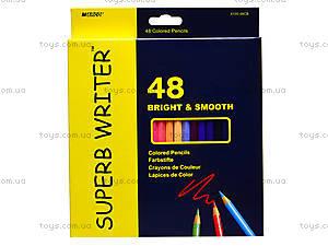 Цветные карандаши Marco Superb Writer, 48 цветов, 4100-48СВ, цена