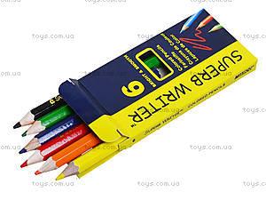 Карандаши цветные Marco Superb Writer, 4100-6СВ, купить