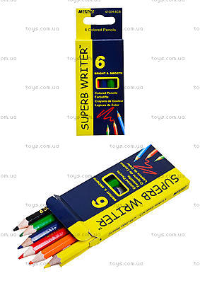 Карандаши цветные Marco Superb Writer, 4100-6СВ